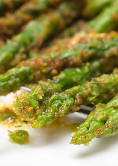 Gluten-Free Asparagus with Garlic Breadcrumbs All But Gluten™