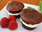 Gluten-Free Mini Brownie Ice Cream Sandwich All But Gluten™