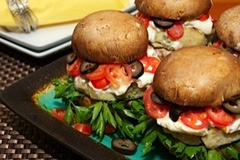 Gluten-Free Portabello Fish Burgers All But Gluten™