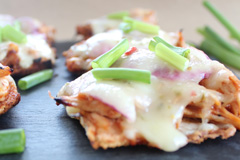 Gluten-Free BBQ Chicken Flatbread All But Gluten™