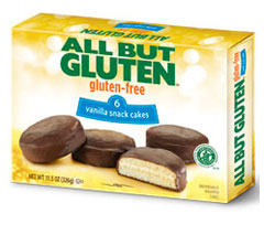 All But Gluten™ Vanilla Snack Cakes