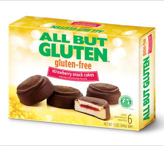 All But Gluten™ Strawberry Snack Cakes